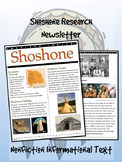 Shoshone American Indian/Native American Research Newsletter!