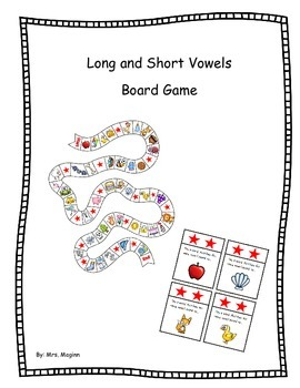 Shot and Long Vowels Game