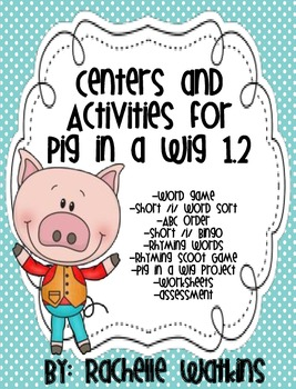 Shot /i/ Centers, also goes with Reading Street 1.2 Pig in a Wig
