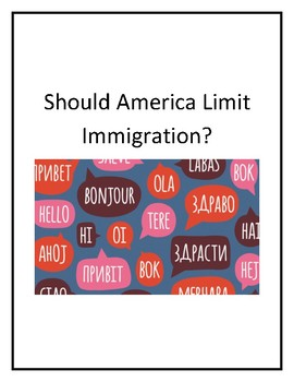 Should America Limit Immigration?