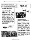 Should America Stay Neutral? World War II Activity