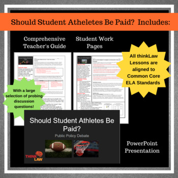 Should College Student Athletes Be Paid?  A Public Policy Debate