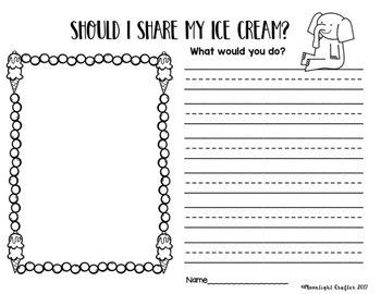 Should I Share My Ice Cream Book Companion
