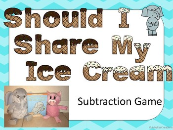 Should I Share My Ice Cream Subtraction Game