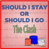 Should I Stay or Should I Go - Bucket Drumming Arrangement