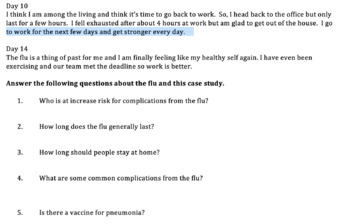 Should I Stay or Should I Go - Spread of the Flu Case Study with Questions