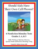 Stimulus Texts and Prompt Grades 3 - 5.