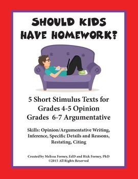 Stimulus Texts and Prompt Grades 4-7