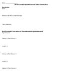 Should Parents Help With Homework Argumentative Essay Planning Sheet / Outline