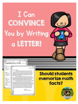 Opinion Letter Writing: Should students memorize their math facts?