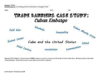 Should the US Continue the Embargo?: A Cuban Embargo Case Study