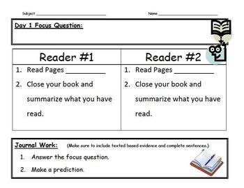 Shoulder Partner Reading Guide