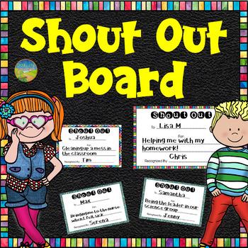 Shout Out Bulletin Board
