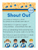 Shout Out -out Word Family Poem of the Week
