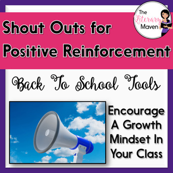 "Positive Reinforcement & Growth Mindset ""Shout Outs"""