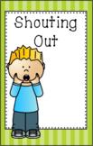 Shouting Out Mini Social Story Set