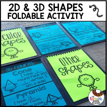Shouting for Shapes Foldable 2D and 3D