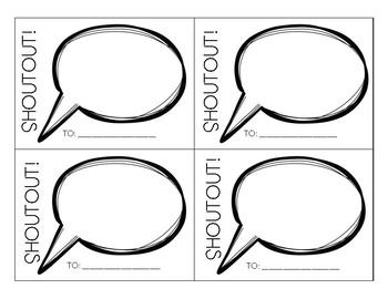 Shoutouts: Student Compliment System