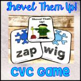 Blending Sounds & Reading CVC Words Center Game