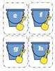 Shovel and Pail Lowercase Flashcards