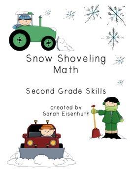 Snow Shoveling Math: Second Grade Skills