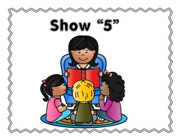 Show 5 Behavior Management Chart for Whole Group/Circle Time