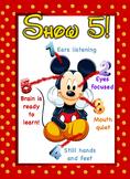 Show 5 Disney Mickey Poster