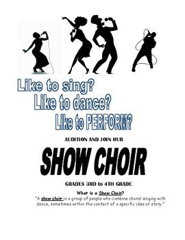 Show Choir Flyer