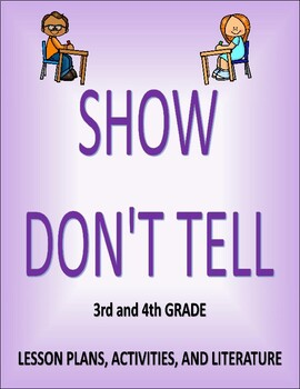 Show Don't Tell Lesson Plans and Activities