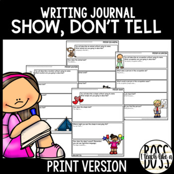 Show, Don't Tell Journal Prompts