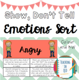Show, Don't Tell Sort (3 versions)