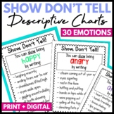 Show Don't Tell Charts - Distance Learning