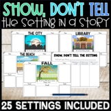 Show Don't Tell the Setting Activity