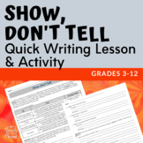 Show Don't Tell {FREE}