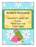 Show Don't Tell   Writer's Workshop