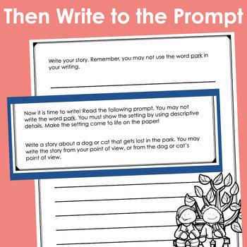 Show It! Descriptive Writing Exercises (Prompts)- BUNDLE!