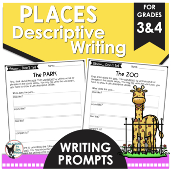 Descriptive Writing Prompts Places