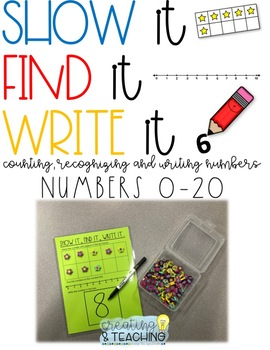 Show It, Find It, Write It! [Numbers 0-20]