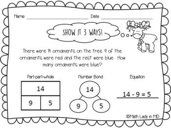 1st Grade Problem Solving Bundle