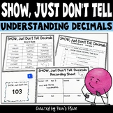 Decimals Activity Represent Decimals in Different Ways