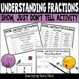 Fractions Activity - Represent Fractions in Different Ways