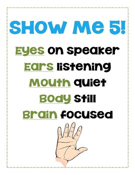 Show Me 5! Poster