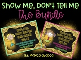 Show Me, Don't Tell Me Activities - Sensory Details (The Bundle)