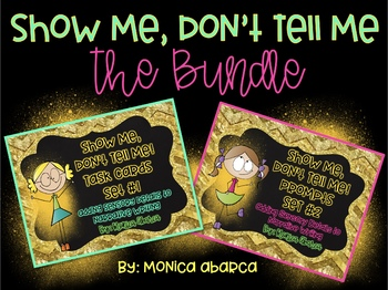 Show Me, Don't Tell Me Activities - Sensory Details (The Bundle)