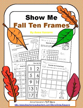 Show Me Fall Ten Frames
