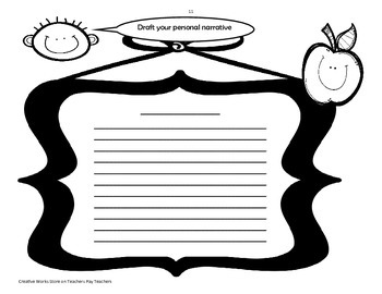 Show Me How to Write a Personal Narrative!
