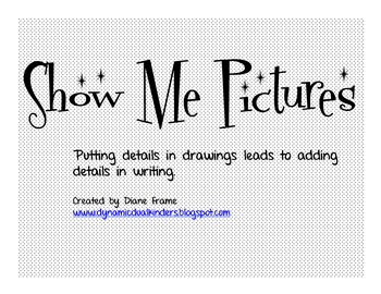 Show Me Pictures-Illustrators become authors!