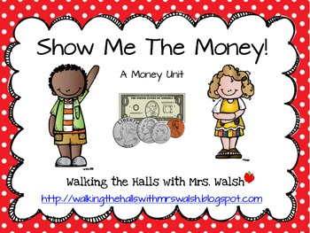 Show Me The Money! A Money Lesson Enrichment Packet