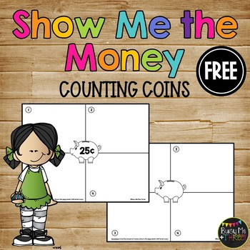 Show Me The Money FREEBIE {First Grade & Second Grade}