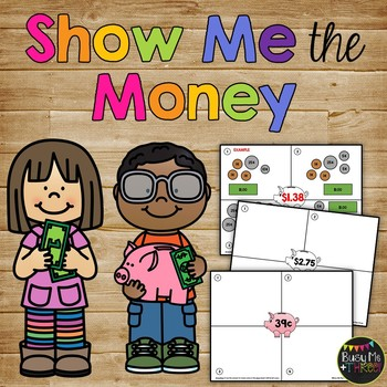 Counting Money Activity - Show Me The Money {1st, 2nd, 3rd Grade}